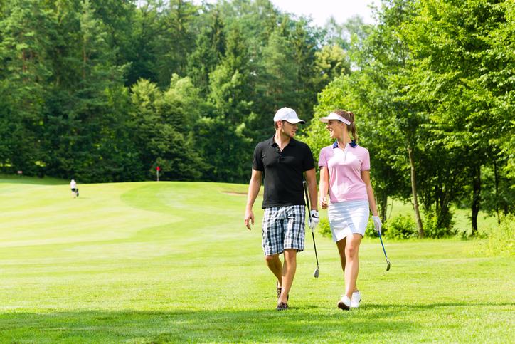 「ゴルフ 夫婦」の画像検索結果